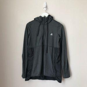 Adidas Half Zip Grey Rain Jacket